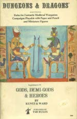 Gods, Demi-Gods, & Heroes for Original Dungeons and Dragons